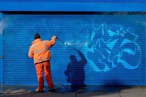 servicio de limpieza de grafitis